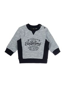 Timberland Baby boys Ribbed fleece sweater