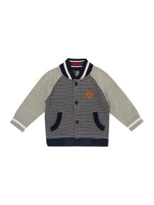 Timberland Baby boys Striped knitted cardigan