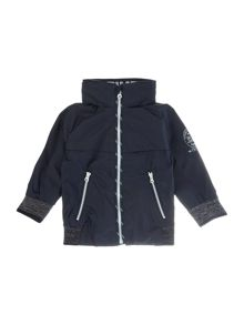 Timberland Baby boys Rip stop hooded jacket