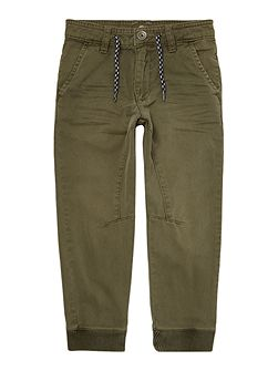 Boys Bleach effect trousers