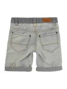 Timberland Boys Bermuda shorts with bleach effect