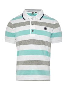 Timberland Boys Short sleeved jersey polo shirt