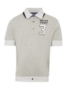 Timberland Boys Jersey and poplin polo shirt
