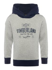 Timberland Boys Suede fleece sweatshirt