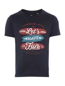 Timberland Boys Short sleeve t-shirt