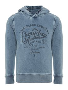Timberland Boys Bleached effect sweater