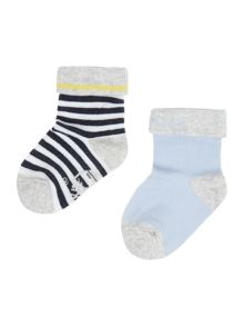 Baby boys Set of 2 pair of socks