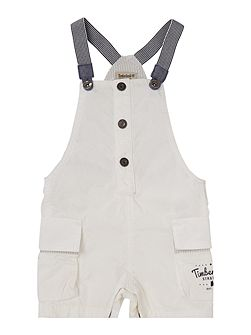 Baby boys Twill dungarees