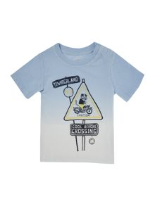 Timberland Baby boys Short sleeved dip dye t-shirt