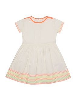 Baby girls Dress with Neon Embroidery