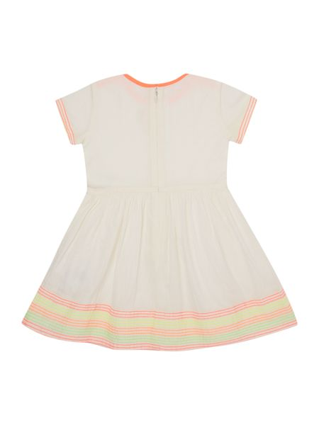 Billieblush Baby girls Dress with Neon Embroidery
