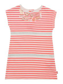 Billieblush Baby girls Striped Dress with Sequin