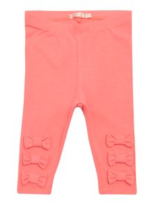 Billieblush Baby girls Pink Leggings with Bows