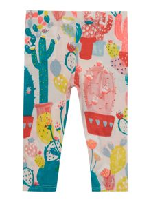 Billieblush Baby girls Cactus Print Leggings