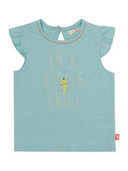Baby girls Vest Top with Chilli Print