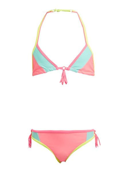 Billieblush Girls Multi-coloured Triangle Bikini