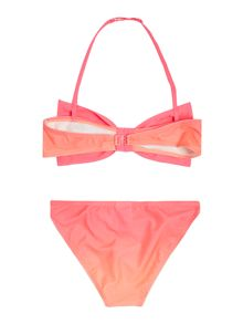 Billieblush Girls Pink Bandeau Bikini with Bow
