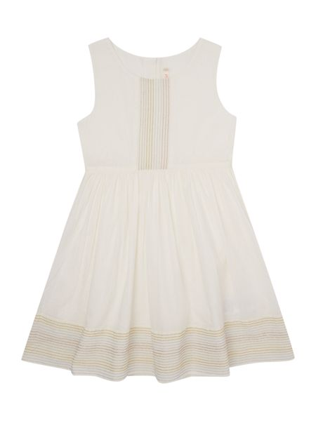 Billieblush Girls White Embroidered Dress