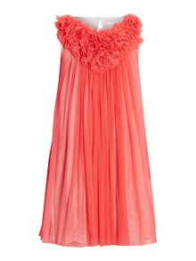 Billieblush Girls Pink Tulle Party Dress