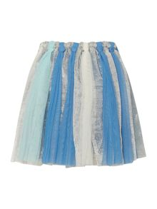 Billieblush Girls Blue Embellished Tulle Skirt
