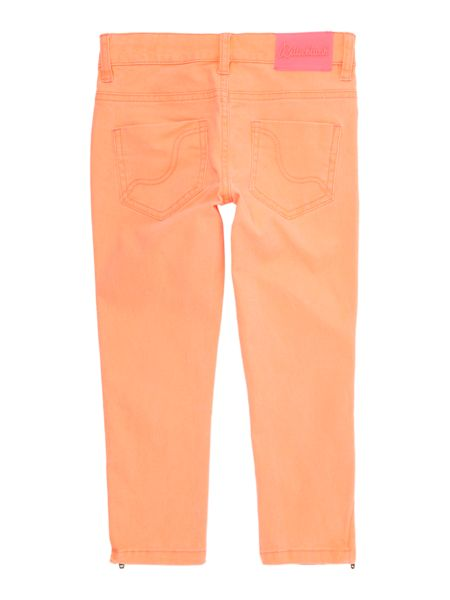 Billieblush Girls Cotton Twill Slim-Fit Trousers