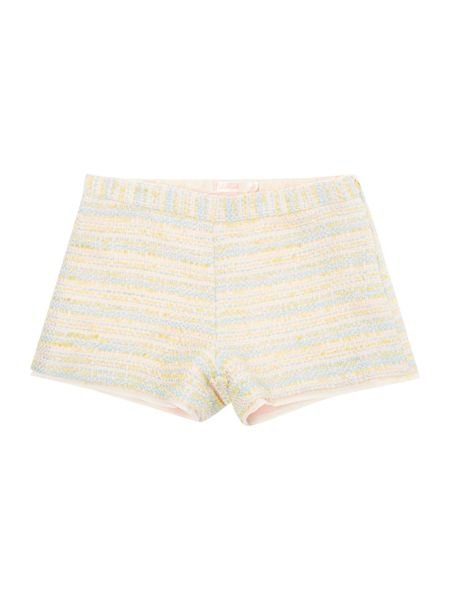 Billieblush Girls Pastel Tweed Shorts