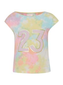 Billieblush Girls Tie-Dye T-Shirt
