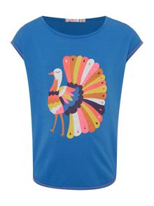 Billieblush Girls Sleeveless T-Shirt with Print