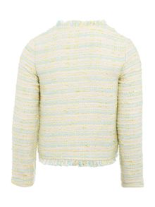 Billieblush Girls Pastel Tweed Jacket