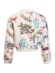 Billieblush Girls All over reversible print jacket