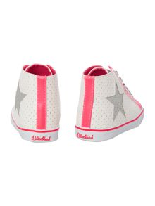 Billieblush Girls perforated high tops
