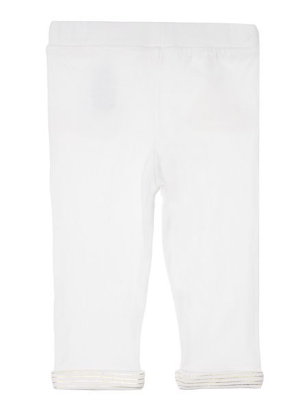 Billieblush Baby girls White Cotton Trousers