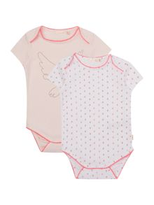 Billieblush Baby girls Set of Two Printed Bodies