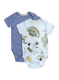 Baby boys Two bodysuit set
