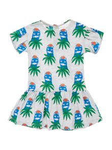 Little Marc Jacobs Baby girls Slab jersey dress