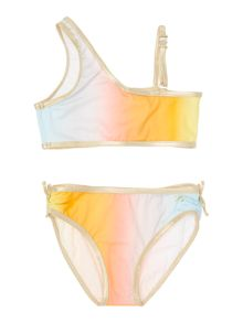 Little Marc Jacobs Girls Dip dye bikini
