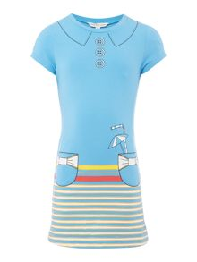 Little Marc Jacobs Girls Short sleeved dress