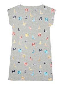 Little Marc Jacobs Girls Alphabet dress