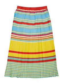 Little Marc Jacobs Girls Striped skirt