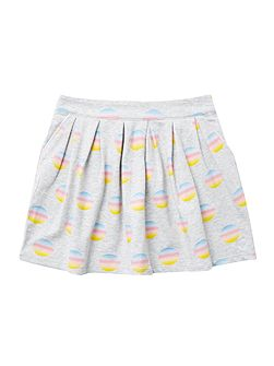 Girls Different dip dye circles skirt