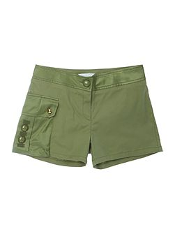 Girls Shorts with satin details