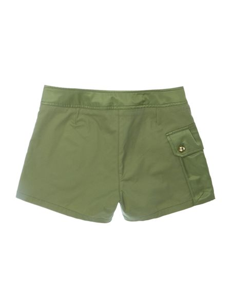 Little Marc Jacobs Girls Shorts with satin details