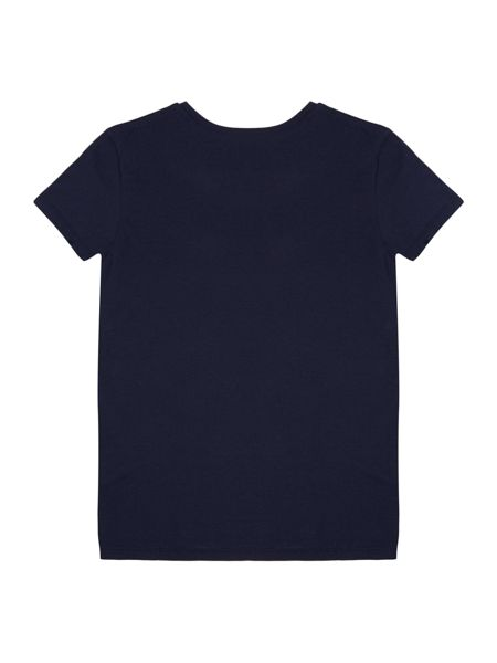 Little Marc Jacobs Girls T-shirt with a sequined patter