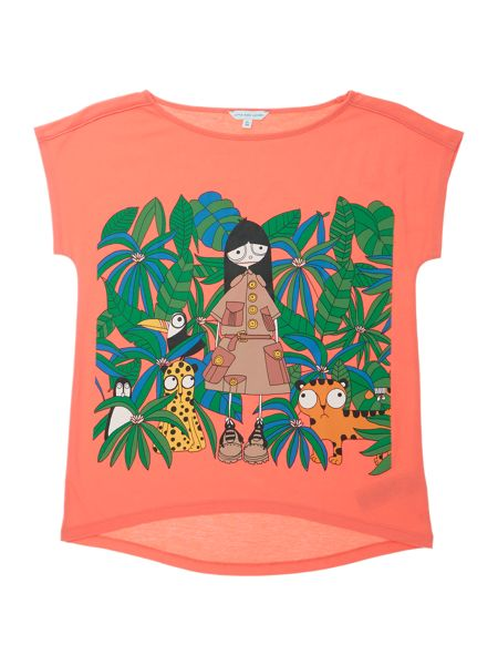 Little Marc Jacobs Girls Short sleeve t-shirt