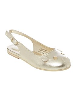 Little Marc Jacobs Girls Mouse ballerina shoes