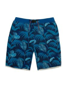 Little Marc Jacobs Boys Jungle printed shorts