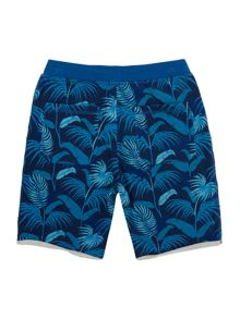Boys Jungle printed shorts