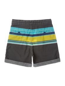 Little Marc Jacobs Boys Stripe print poplin short