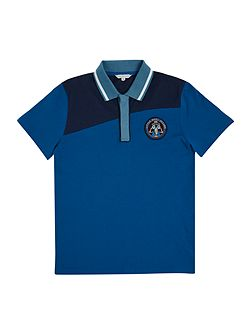 Little Marc Jacobs Boys Short sleeved polo shirt