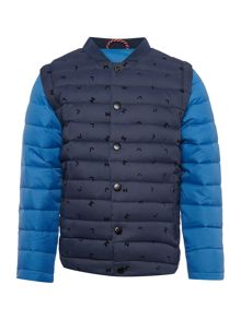 Little Marc Jacobs Boys Feather puffer jacket